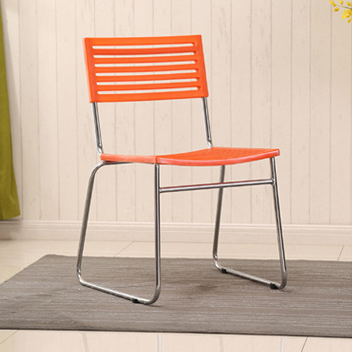 Blaze Stackable Chair With Chrome Frame Image 11