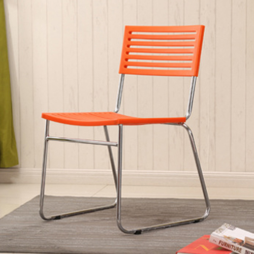 Blaze Stackable Chair With Chrome Frame Image 12