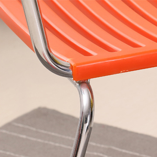 Blaze Stackable Chair With Chrome Frame Image 15