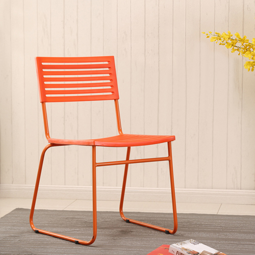 Blaze Stackable Chair With Chrome Frame Image 1