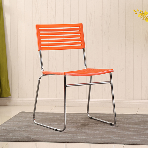 Blaze Stackable Chair With Chrome Frame Image 4