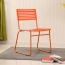 Blaze Stackable Chair With Chrome Frame Image 5