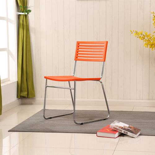 Blaze Stackable Chair With Chrome Frame Image 8