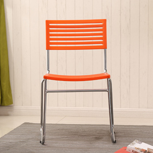 Blaze Stackable Chair With Chrome Frame Image 9