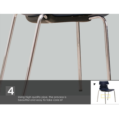 Unusual Breakout Chair With Chrome Base