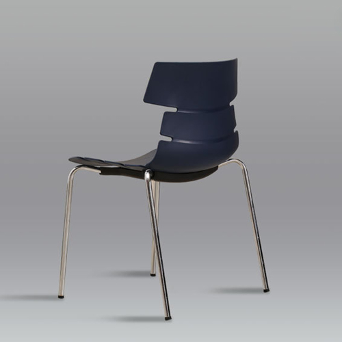 Unusual Breakout Chair With Chrome Base Image 6