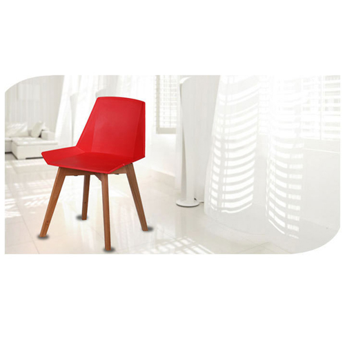Plooza Chair With Wooden Base Image 9