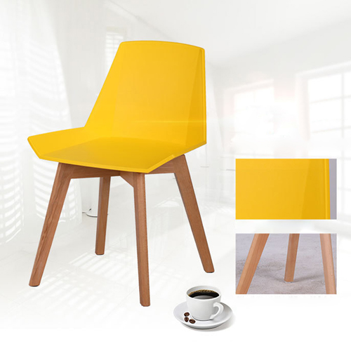 Plooza Chair With Wooden Base Image 14