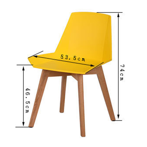 Plooza Chair With Wooden Base Image 18