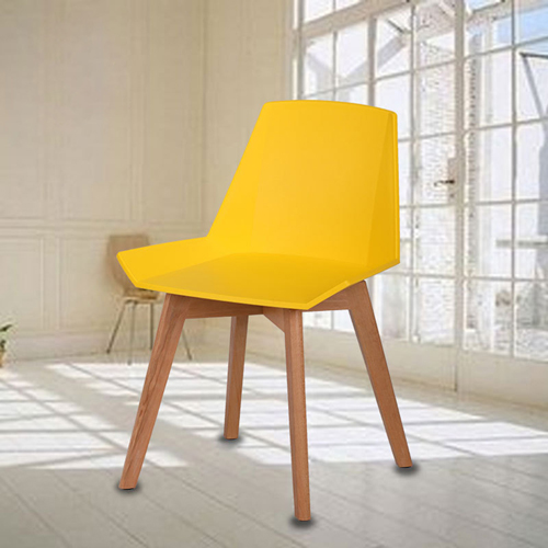 Plooza Chair With Wooden Base Image 1