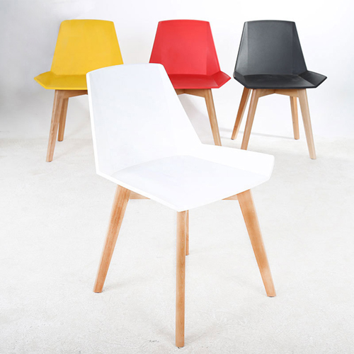 Plooza Chair With Wooden Base Image 2