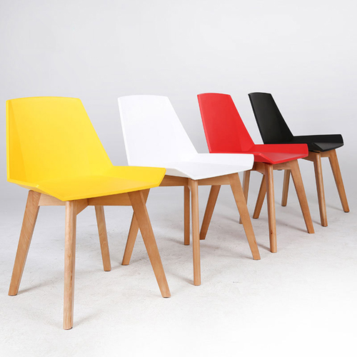 Plooza Chair With Wooden Base Image 3