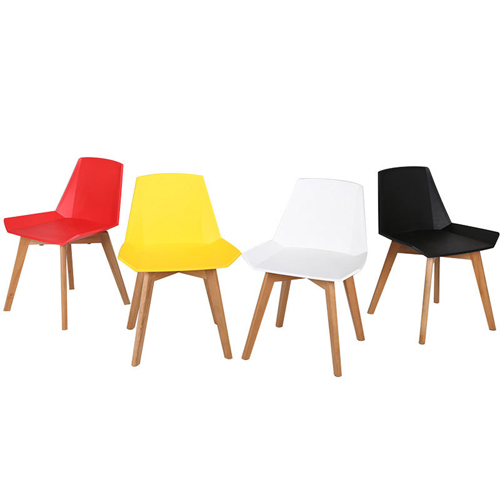 Plooza Chair With Wooden Base Image 4