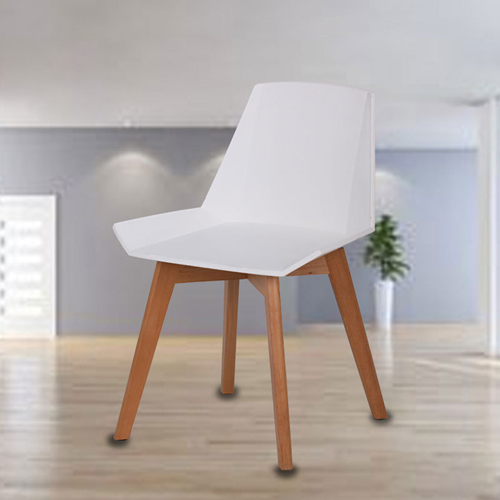 Plooza Chair With Wooden Base Image 5