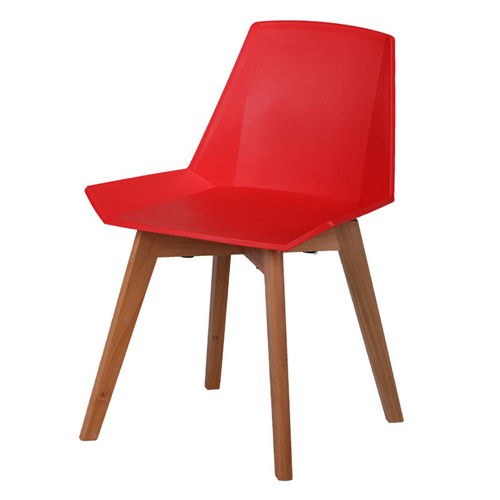 Plooza Chair With Wooden Base Image 6