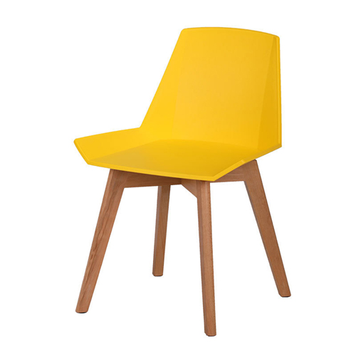 Plooza Chair With Wooden Base