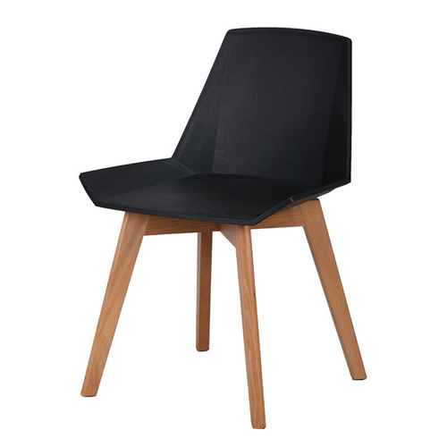 Plooza Chair With Wooden Base Image 8