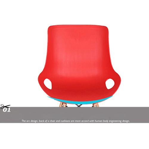 Bermo Modern Shell Chair Image 15