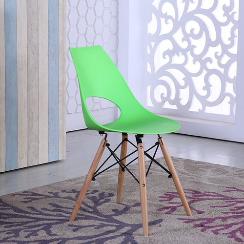 Cincyr Molded Chair with Dowel Base Image 3