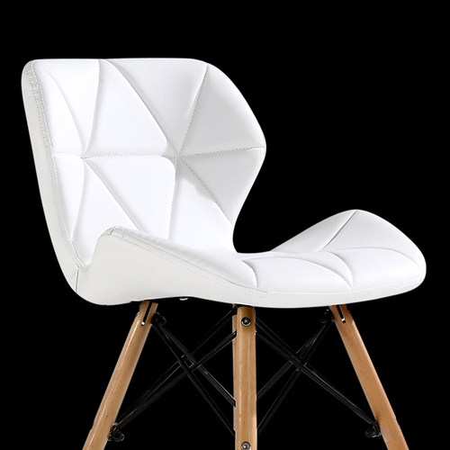 Butterfly Upholstered Chair With Dowel Base Image 1