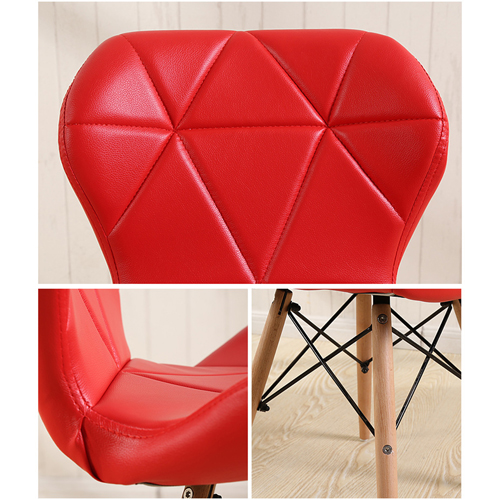 Butterfly Upholstered Chair With Dowel Base Image 24