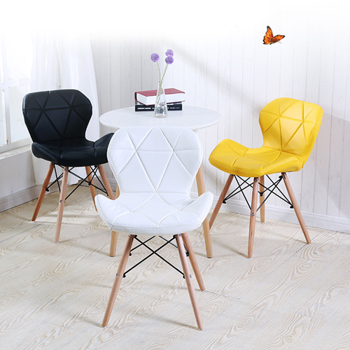 Butterfly Upholstered Chair With Dowel Base Image 4
