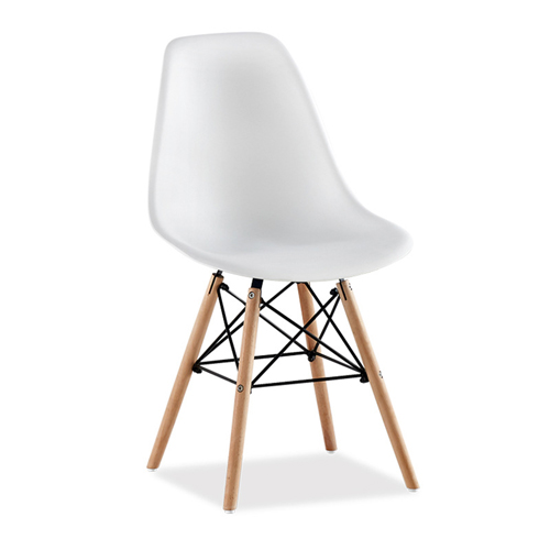 Creative Chair With Tapered Wood Leg Image 9