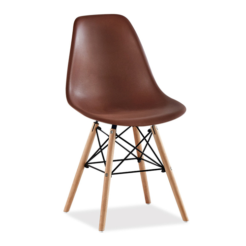 Creative Chair With Tapered Wood Leg Image 11