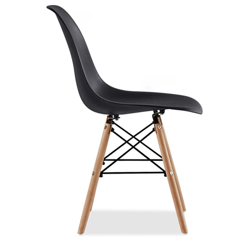 Creative Chair With Tapered Wood Leg Image 15