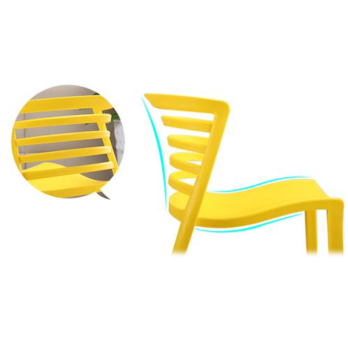 Contour Curvy Chair Image 16