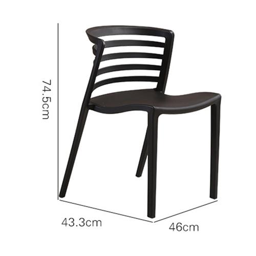 Contour Curvy Chair Image 19