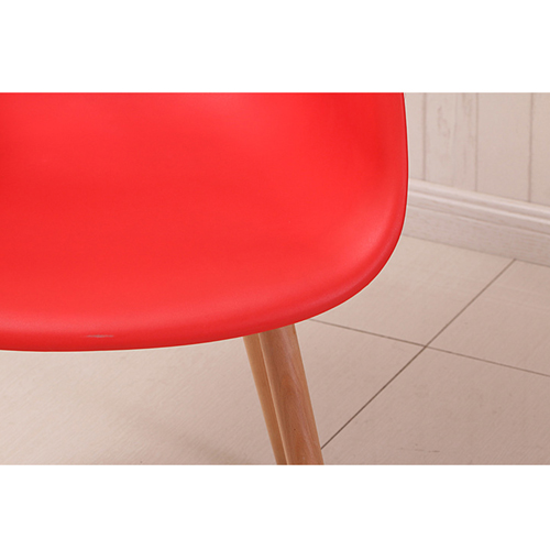Minishares Molded Armchair with Wood Legs Image 19