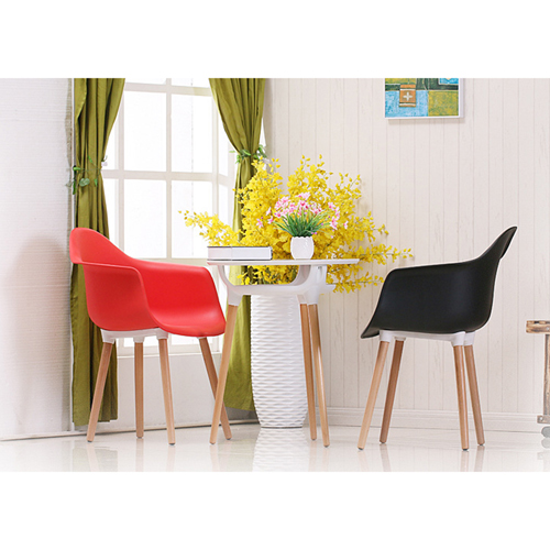 Minishares Molded Armchair with Wood Legs Image 2