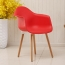 Minishares Molded Armchair with Wood Legs Image 8