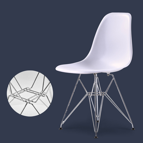 Harbingel Chair with Chrome Eiffel Legs