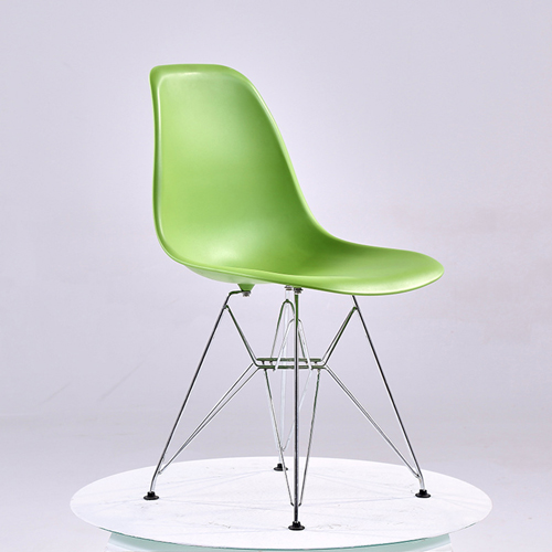 Harbingel Chair with Chrome Eiffel Legs Image 3