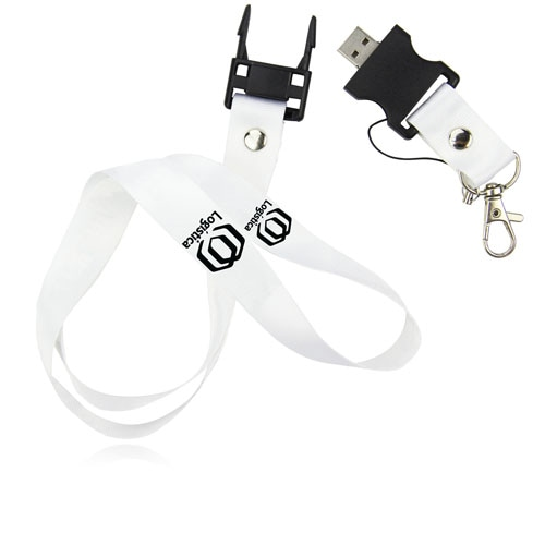 8GB Lanyard Flash Drive Image 1