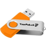 2GB Rotate USB Flash Drive