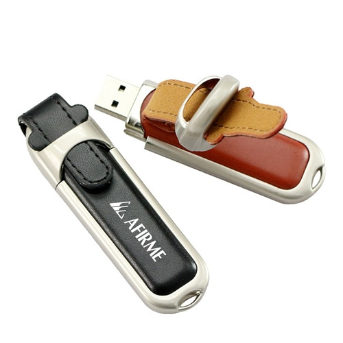 1GB Leather Flash Drive Image 5