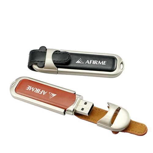 32GB Leather Flash Drive Image 6