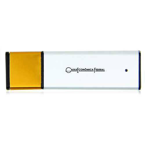 16GB Aluminum USB Flash Drive Image 1