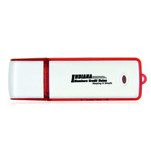 8GB Rectangular Flash Drive Image 1