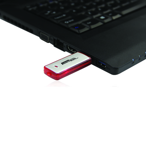 8GB Rectangular Flash Drive Image 3