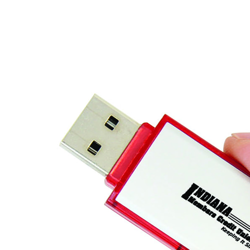 8GB Rectangular Flash Drive Image 7