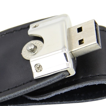 1GB Stylo Leather Flash Drive