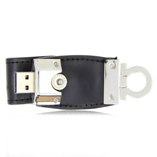 2GB Stylo Leather Flash Drive Image 2