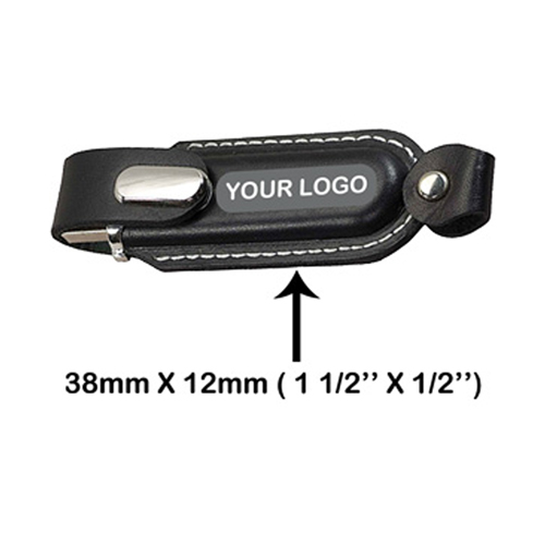 8GB Stylo Leather Flash Drive Image 2