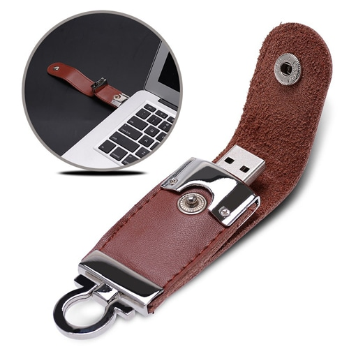 16GB Stylo Leather Flash Drive