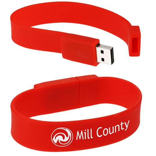 2GB Wristband USB Flash Drive