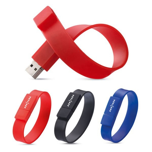 2GB Wristband USB Flash Drive Image 3